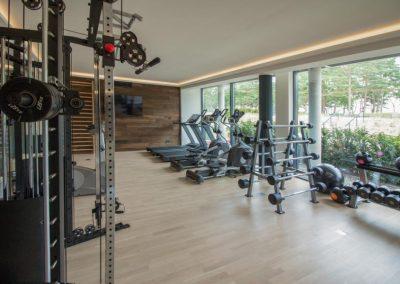 Fitnesscenter Rügen - Fitnessraum